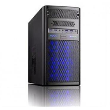 Cacecom MG31 Case 600W PSU mAtx/ ATX, Blue, USB3, 2YR CACC-MG31B-600W