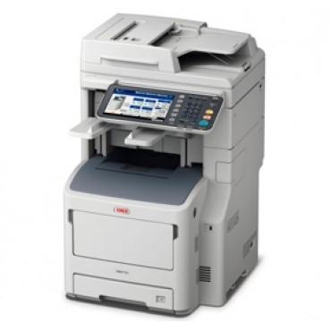 OKI MB770DFNFAX Mono MFP A4 52 ppm Network Duplex 530+100 sheet+offline stapler, fax, 1 yr 3 year