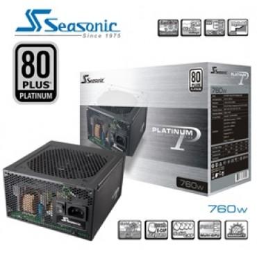 Seasonic 80Plus Platinum Series 760W Power Supply PSUSEAP760V2NEW