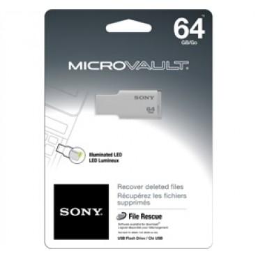 Sony 64GB Micro Vault Tiny USB Flash Drive USM64GMW