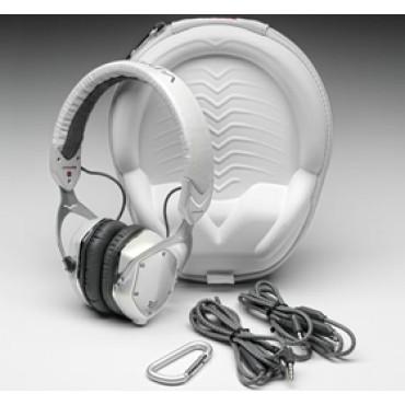 V-Moda Crossfade M-80 Vocal On-Ear Noise-Isolating Metal Headphone White Silver
