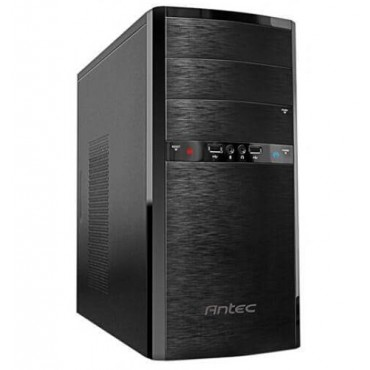Antec ASK3450B Mid Tower Case with True 450W APFC PSU, Support microATX, Mini-ITX MB with 2 x USB