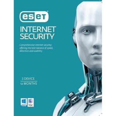 ESET Internet Security OEM 3 Devices 1 Year EISH3D1Y