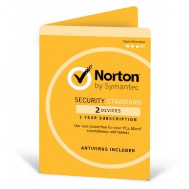 Symantec Norton Security Standard with Antivirus OEM 2 Devices 1 Year Digital Download AV-NORSTDOEM-2