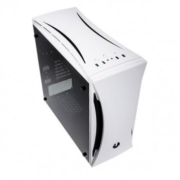 Bitfenix White Aurora Mid Tower Chassis (USB3) BFC-ARA-300-WKWKK-RP