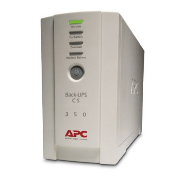 APC BACK-UPS: 350VA CS USB Support BK350EI