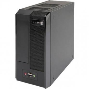 In Win BM677 MINI-ITX SFF SLIM BLACK 180W CHASSIS, FRONT: 2xUSB3.0 + HD AUDIO, INT. DRV BAY: 1x2.5IN