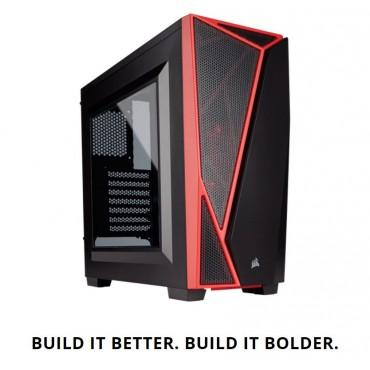 CORSAIR Carbide SPEC-04 Mid-Tower Gaming Case Black & Red CC-9011107-WW