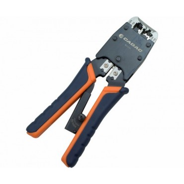 Cabac Precision RJ Crimper 6 and 8 Way RJ1245