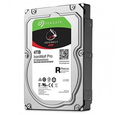 Seagate 4TB 3.5' IronWolf Pro NAS SATA3 NAS 24x7 Performance HDD (ST4000NE0025) ST4000NE0025