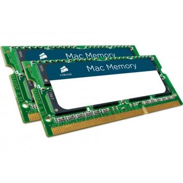 Corsair (2x4GB) DDR3 for MAC DDR3-1066, 1.5V, SODIMM CMSA8GX3M2A1066C7