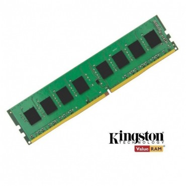 Kingston 8GB (1x8GB) DDR4 UDIMM 2400MHz CL17 1.2V Unbuffered ValueRAM Single Stick Desktop Memory
