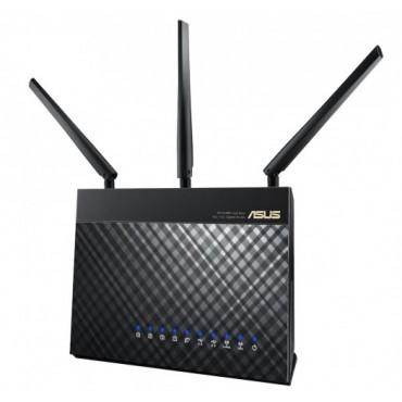 ASUS AC1900 Dual Band Router 5XGBIT, 1XUSB2, 1XUSB3, 3XANT RT-AC68U