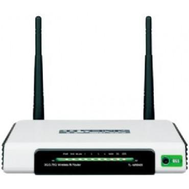 TP-Link TL-MR3420 3G/ 4G Wireless N Router 2.4GHz (300Mbps) 802.11bgn 4x100Mbps LAN 1x100Mbps