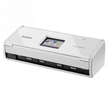 Brother WIFI Document Scanner With Touch LCD, 20 Page ADF ADS-1600W