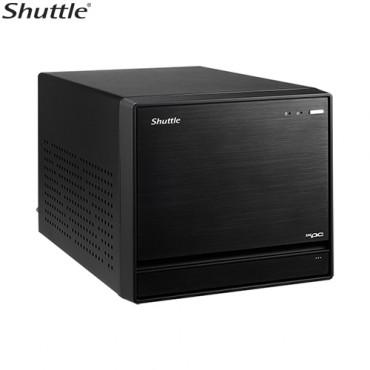 Shuttle SZ270R8 XPC Cube - 4K UHD 3xDisplays Z270 LGA1151 4xDDR4 HDM 2xDP 1xPCIex16 3xM.2 4x3.5'