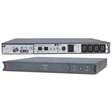 APC Smart-UPS SC 450VA 1U RM 280W/ DB9/ RS232/ 2Yr Wty SC450RMI1U