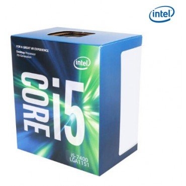 Intel Processor: Core i5-7400 KabyLake Quad Core LGA1151 3.00GHz (Turbo to 3.5GHz) 8GT/ s DMI 6MB
