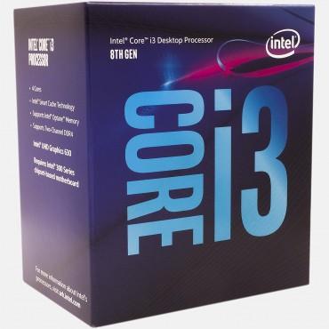 Intel Processor: Core i3-8100 Coffee Lake CPU Quad Core LGA1151 up to 3.60GHz 8GT/ s DMI 6MB cache