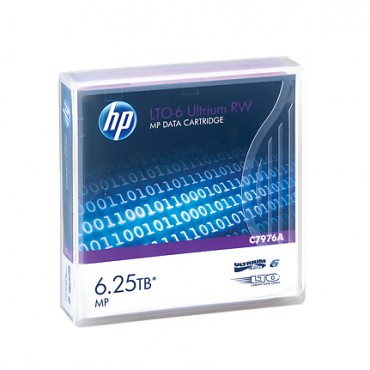 HP 300 X HP LTO6 - 2.5/ 6.25TB DATA CARTRIDGE C7976A-300
