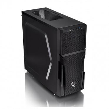 Thermaltake Mid Tower Case: Black Versa H21 With 500w PSU (USB3) CA-3B2-50M1NA-00