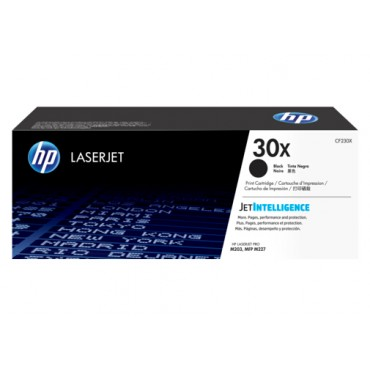 HP 30X Black LaserJet Toner Cartridge CF230X