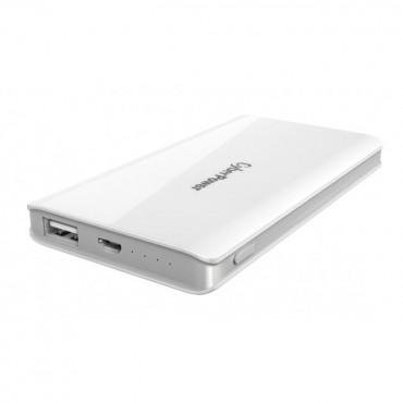 CyberPower CP5000PEG-WG - Classic PowerBank - 5000mAH- White CP5000PEG-WG