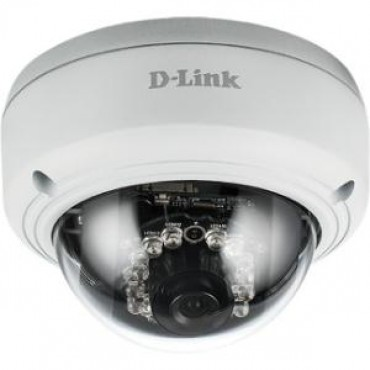 D-Link Vigilance 3MP Full HD Day & Night Mini Dome PoE Network Camera (optional power supply available