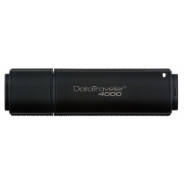 Kingston DataTraveler DT4000 32GB Secure USB Drive. With AES 256bit Hardware Encryption [DT4000/