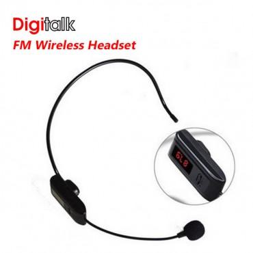 Digitalk FM Wireless Headset FOR F-37B ELEDIGWIFM