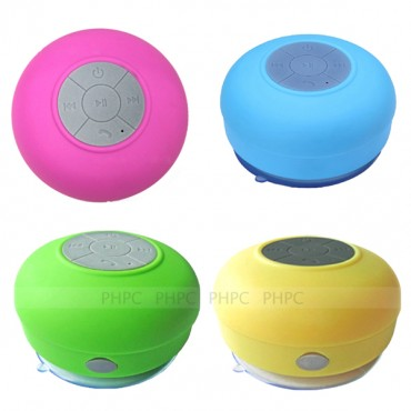 Mini Waterproof Wireless Bluetooth Speaker (Pink) ELEVMXWATERPFPK