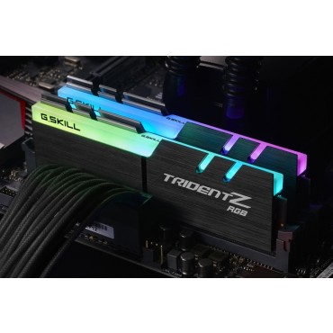 G.SKILL PC4-32000 / DDR4 4000 MHZ 16GB 2 X 8GB 18-19-19-39 1.35V TRIDENT Z RGB F4-4000C18D-16GTZR