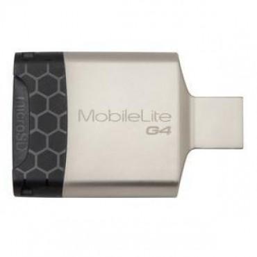 Kingston MobileLite G4 USB 3.0 Multi-card Reader SD/ MICRO SD FCR-MLG4