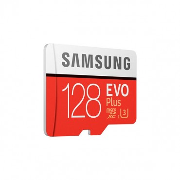 SAMSUNG 128GB UHS-I Plus EVO CLASS 10 U3 4K without SD ADAPTER 100R/90W MB-MC128G FFCSAM128GTFMC100G-1