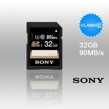 SONY SF-32UY3 32GB UHS-I SDHC CLASS 10 upto 90MB/S FFCSON32GSFUY3