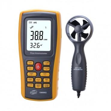 Benetech GM8902 USB Interface Air Flow Anemometer GM-8902
