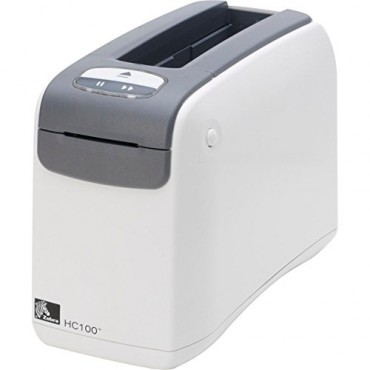 ZEBRA HC100 WRISTBAND PRINTER DIRECT THERMAL AUSTRALIAN CORD ZPL II XML SERIAL USB INT WIRELESS
