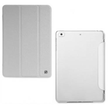 Hoco Ice Ultra Slim Premium Smart Case for iPad Mini/ Mini Retina Snow White, Free Screen Protector