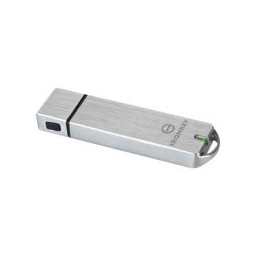 KINGSTON 4GB IRONKEY BASIC S1000 ENCRYPTED USB 3.0 FIPS 140-2 LEVEL 3 IKS1000B/4GB
