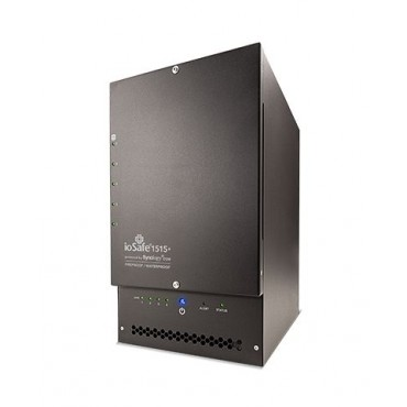 ioSafe 1515+ 10Tb NAS - 5 bay (5 x 2Tb WD RED HDD)fireproof/ waterproof NAS device with RAID 5,