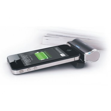 iWALK Rechargeable Battery Pack for iPhone/ iPhone4/ iPod/ Black - 2500mAh IWALK-I2500