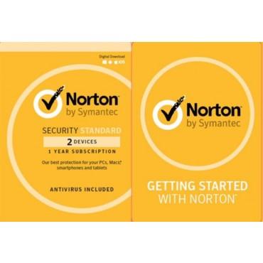 NORTON SECURITY STANDARD 3.0 AU 2 Norton Security Std 2 Lic