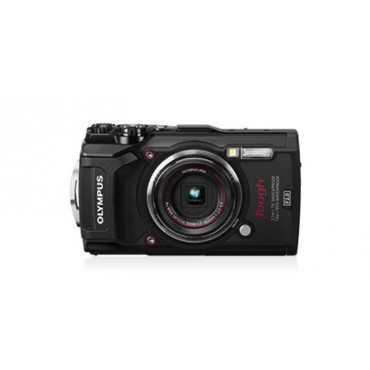 OLYMPUS Stylus Tough TG-5 Black - 12MP, 4x Optical Zoom, Waterproof, Dustproof,Shockproof, 4K movie ,