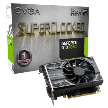 EVGA GeForce GTX 1050 SC GAMING 02G-P4-6152-KR