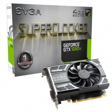 EVGA GeForce GTX 1050 Ti SC GAMING 4GB 04G-P4-6253-KR