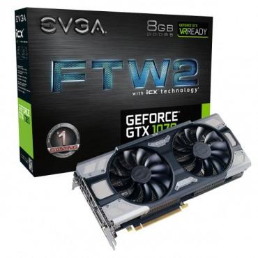 EVGA GeForce GTX 1070 FTW2 GAMING iCX 08G-P4-6676-KR