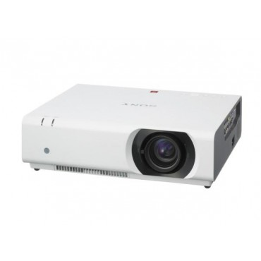 Sony CH370 - Installation, 3LCD, 5000 Lumens, WUXGA, HDMI / VGA / S-Video, LAN Control, 12W Speaker