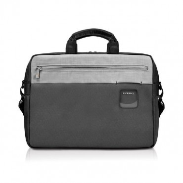 "Everki ContemPRO Commuter Laptop Bag Black Briefcase, up to 15.6"" with Dedicated Tablet/iPad/Pro/Kindle"