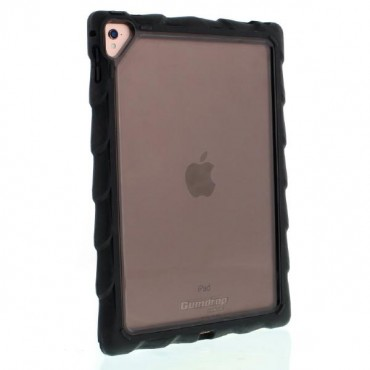 "Gumdrop DropTech Clear iPad 9.7 Case - Designed for: New iPad 9.7"" 2017 (Models: A1822, A1823) DTC-IPAD97-BLK_SMK"