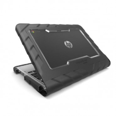 "Gumdrop DropTech HP Chromebook 11"" G5 Case - Designed for: HP Chromebook 11 G5 DT-HPCM11G5-BLK"